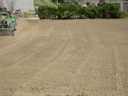 rekultivácia terénu - hrubá úprava terénu pred inštaláciou závlah
