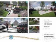 Rekonštrukcia MK Dedinská ulica - sadové úpravy - vizualizácia