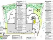 Bratislava-Rezidencia Slavín-Bytový dom-výsadbový plán
