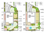 Štitáre-Štúdia úpravy obytnej záhrady