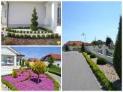 Nitra-Čermáň - realizácia záhrady