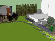 Štitáre - pohľad na záhradný domček